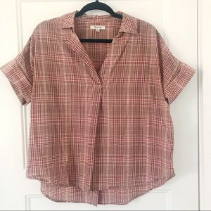 Madewell Back Button Courier Tee